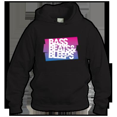 Bass Beats And Bleeps Hoodie (Design 2)