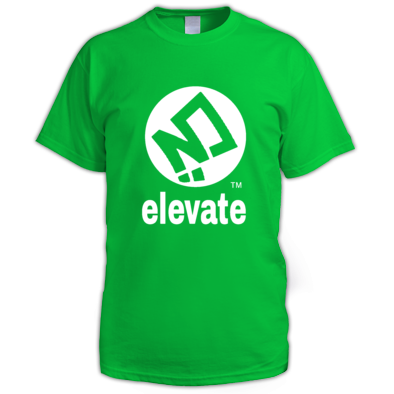 elevate Brand Logo Tee
