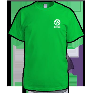 elevate Pocket Logo Tee
