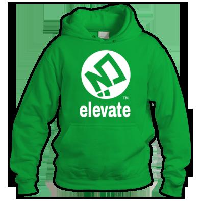 elevate Brand Logo Hoodie