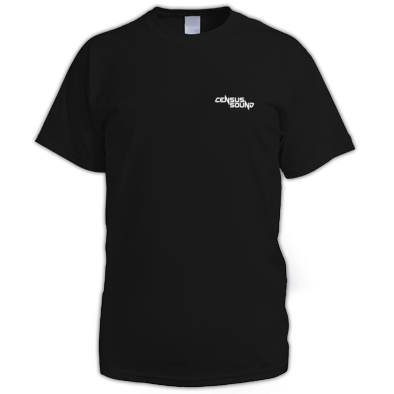 Census Sound T-shirt for him - small logo