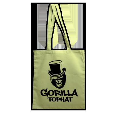 Gorilla Tophat Tote Bag