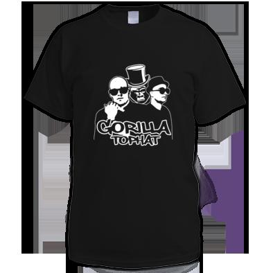 Gorilla Tophat Unnatural Habitat T-Shirt