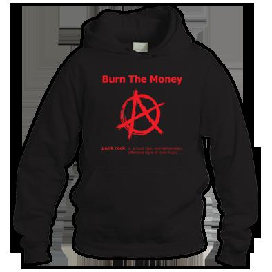Burn The Money: Punk Definition