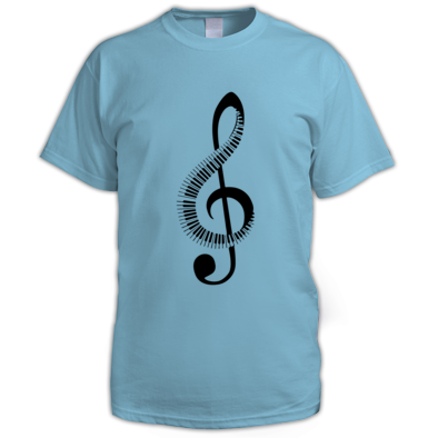 Keyboard Treble Clef - Men's