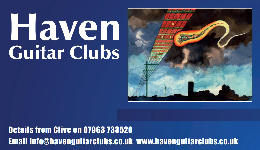 HAVEN GUITAR CLUBS MERCH