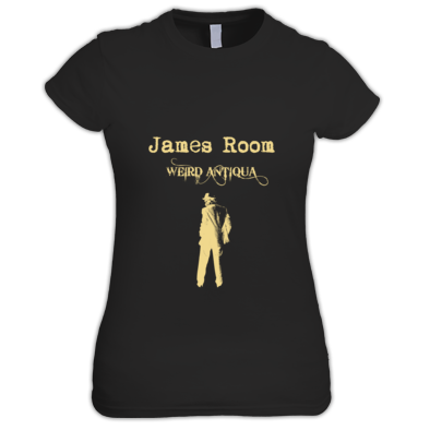 cream figure T-SHIRT (women's)