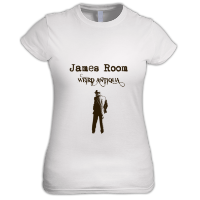 brown figure T-SHIRT (women's)