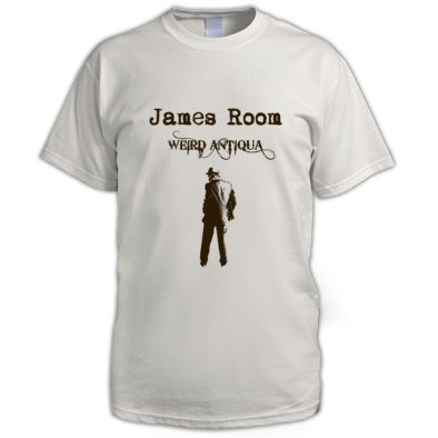brown figure T-SHIRT (men's)