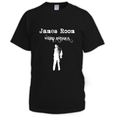 white figure T-SHIRT (men's)