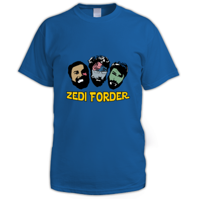 ZF Shirt (Male) - includes Zedi Forder self-titled ALBUM mp3 download!