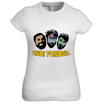 ZF Shirt (Fem) - includes Zedi Forder self-titled ALBUM mp3 download!