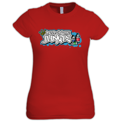 Deep in the Jungle Graff King Womens Tee