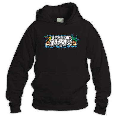 Deep in the Jungle Throw Up Hoodie