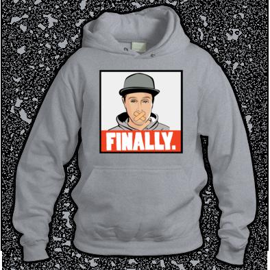 finally hoodie
