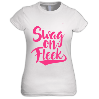 women's swag on fleek tshirt