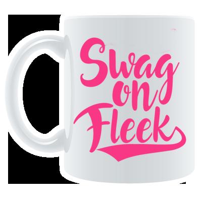swag on fleek mug