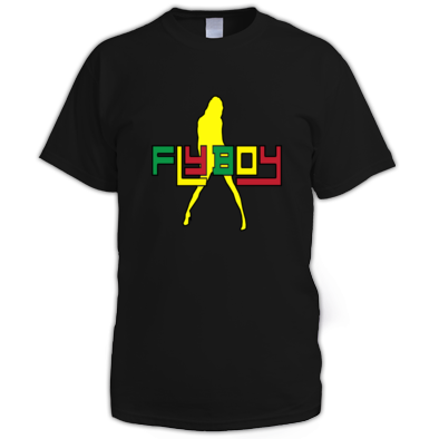men's fly boy tshirt