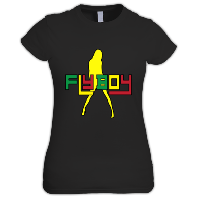 women's fly boy tshirt