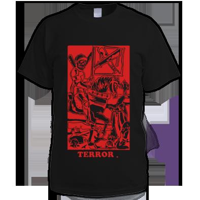 Terror Tarot Card Mens Tee