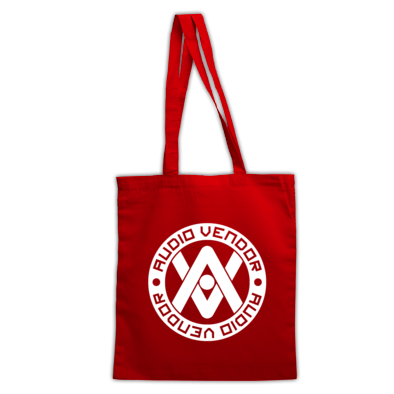 Audio Vendor White Logo - Tote Bag