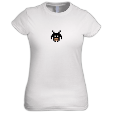 Bitman Face Fitted T-Shirt