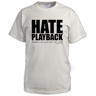 HATE PLAYBACK LOGOBLK