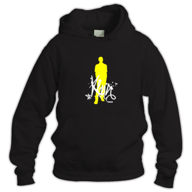 King Silhouette (White/Yellow)