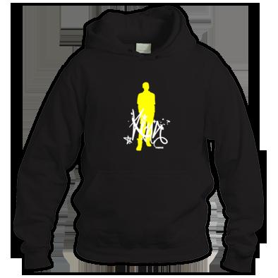 King Silhouette (White/Yellow)