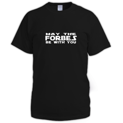 Derek Forbes - May The Forbes ... T-Shirt (Men's fit)