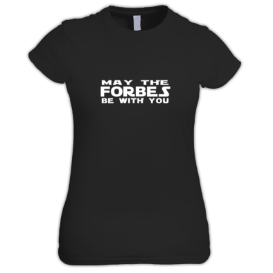 Derek Forbes - May The Forbes ... T-shirt (Women's Fit)