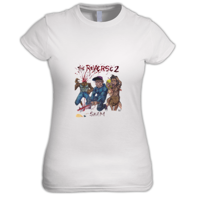 Reverse 2 T-Shirt Women (Limited Edition - White)