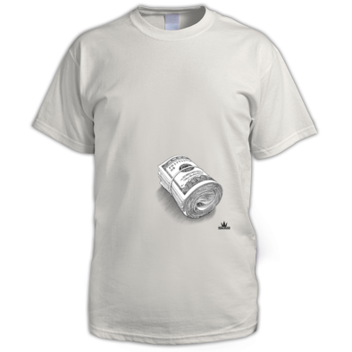 Bank Note T-shirt Men