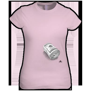 Bank Note T-shirt Women