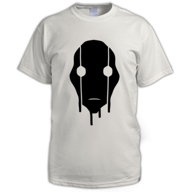 MASK - White T - Big Print