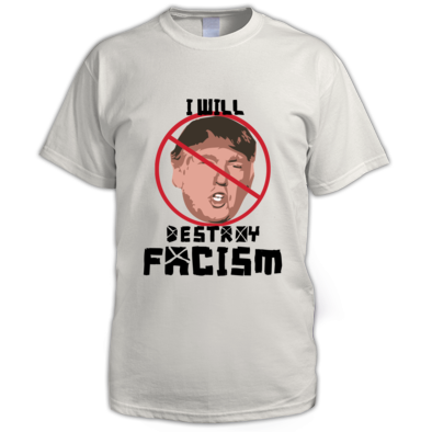 I will destroy fascism - Tee