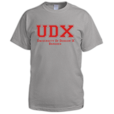 UDX Grey and Red
