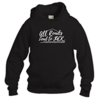 Krome Hoodie (Men\Women) - All Roads Lead to Jack Logo