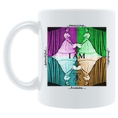 I Am artwork mug