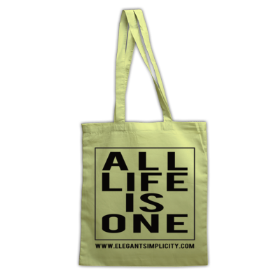 All Life Is One Tote Bag