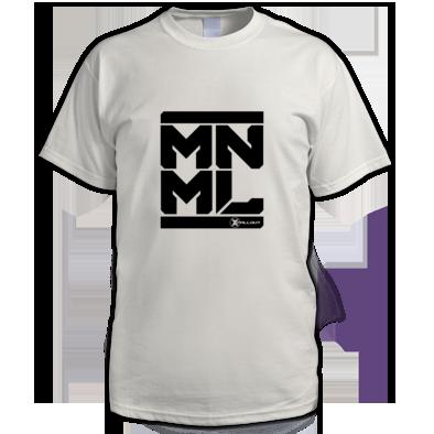 Zero Method - MNML Tee (Black Logo)