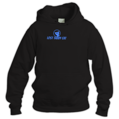 Lost Tabby Cat Logo Hoodie OFFICIAL