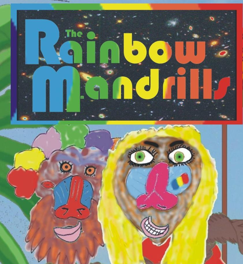 The Rainbow Mandrills Merch Shop