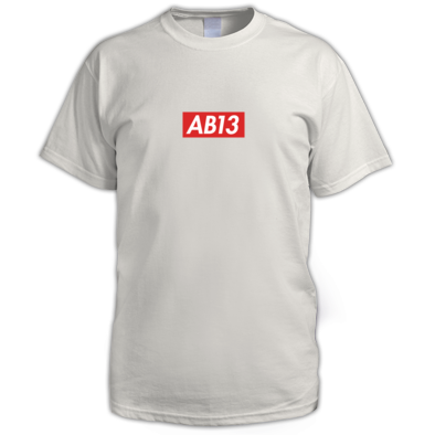 AB13 Box Logo Tee