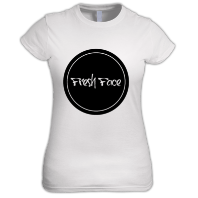 Circle FreshFace Clothing Logo - Womens T-shirt