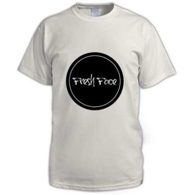 Circle FreshFace Clothing Logo - Mens T-shirt