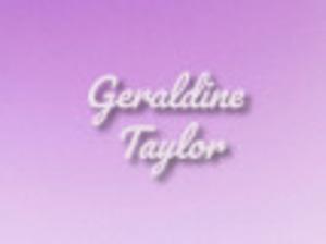 Geraldine Taylor Merchandise