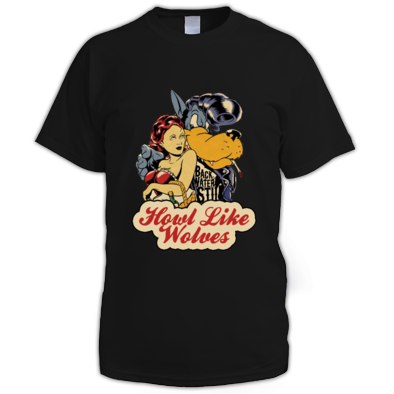 Men's Howl Like Wolves T-shirt 2