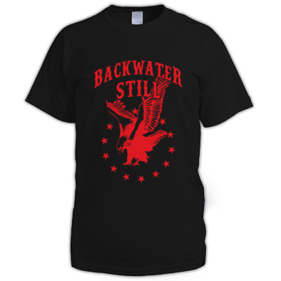 Men's Backwater Still Eagle T-Shirt RED