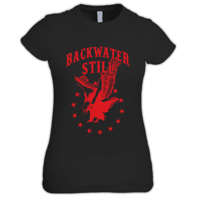 Women's Backwater Still Eagle T-Shirt RED